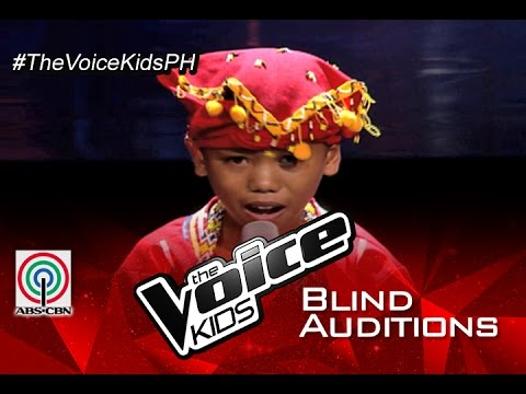 """The Voice Kids Philippines 2015 Blind Audition: """"Tagumpay Nating Lahat"""" by Reynan"""