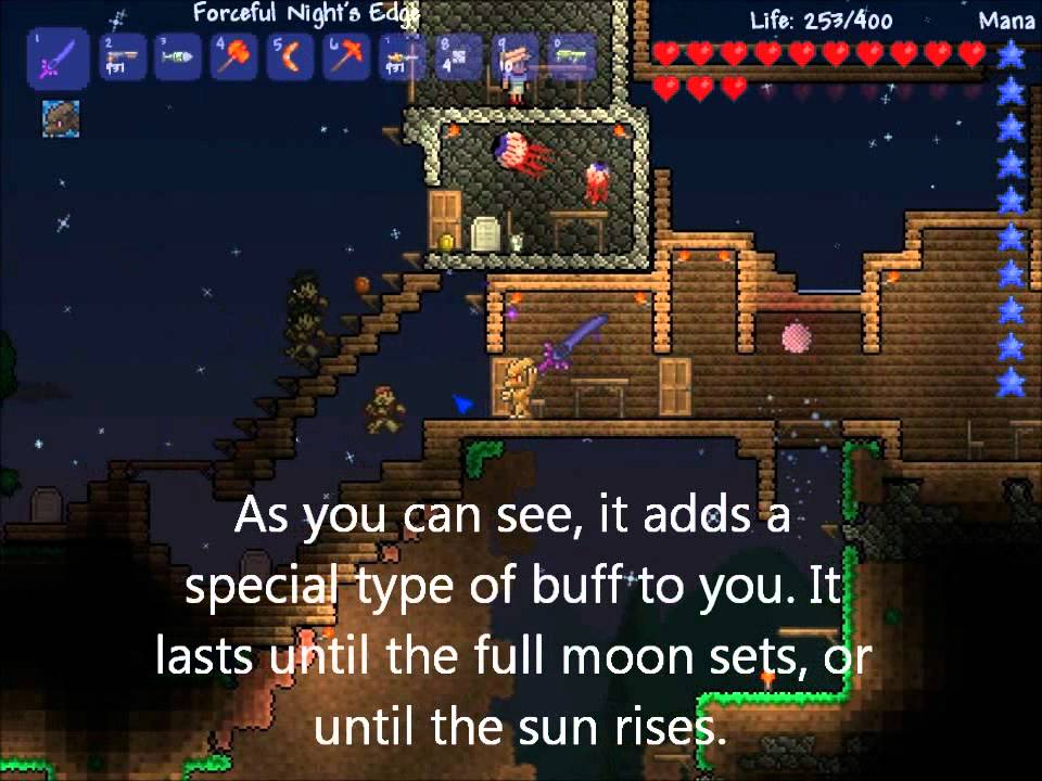 How to Become a Werewolf in TERRARIA! - YouTube