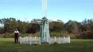 replica Dutch windmill