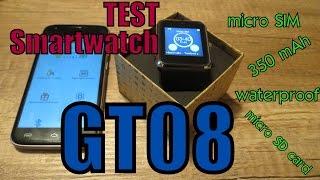 TEST Smart Watch GT08 orig or fake??│Aliexpress česky│Unboxing - rozbalovačka│TEST│