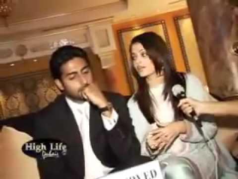 Aishwarya and Abhishek Bachchan Interview From Dubai