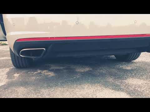 Octavia III RS custom catback decat with straight pipe