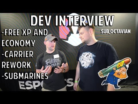 World Of Warships Dev Interview - Free XP Economy, Carriers And Submarines