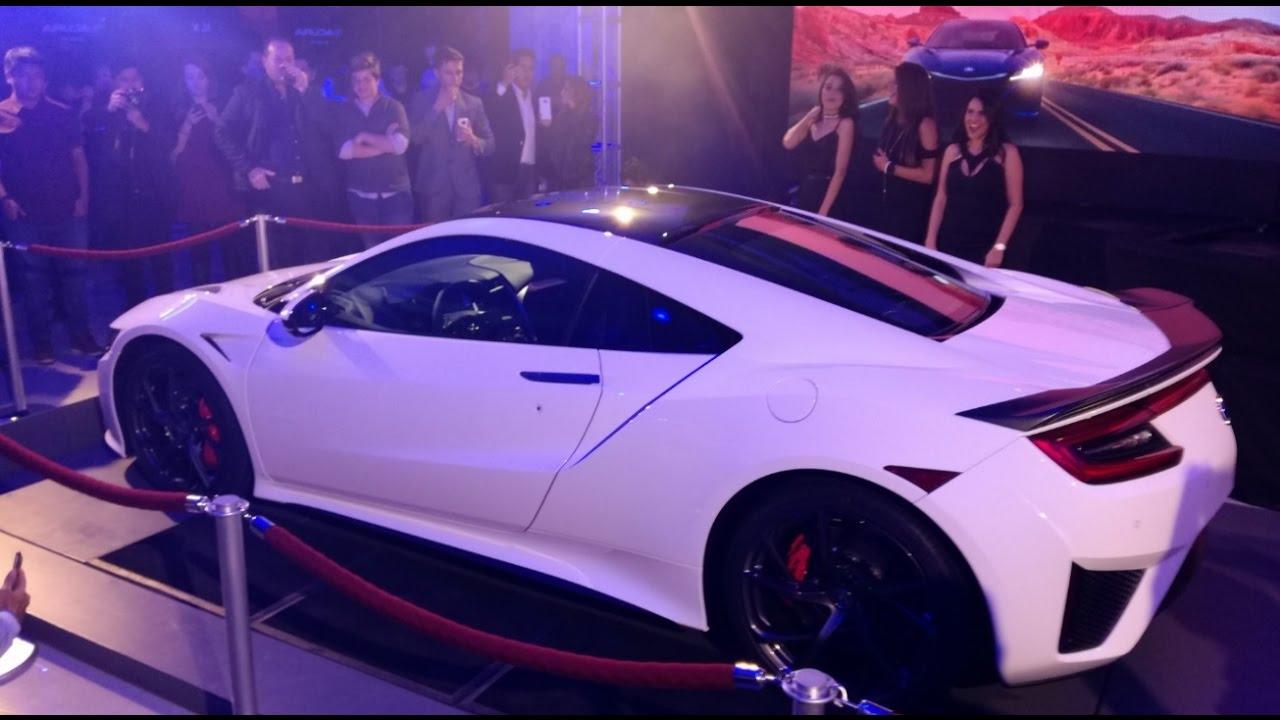 2018 Acura NSX Lanzamiento CDMX YouTube
