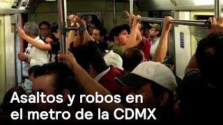 Asaltos y robos en el metro de la CDMX - Inseguridad - En Punto con Denise Maerker thumbnail