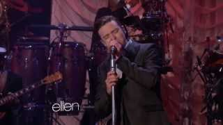 Justin Timberlake - Love Of My Life (Live on Ellen)