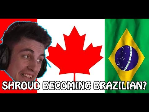 C9 Shroud Getting HYPED With The BRAZILIANS ( 4 BRAZILIANS, 1 CANADIAN )