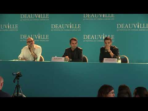 Katie Says Goodbye press conference Christopher Abbott & Wayne ...
