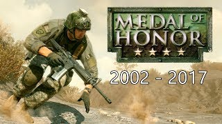 History / Evolution Medal of Honor (2002 - 2017)