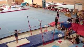 Брусья. Соревнования по спортивной гимнастике