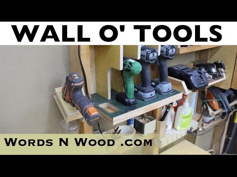 Tool Wall, Garage Door Cover, New Fans, DC Upgrades - S