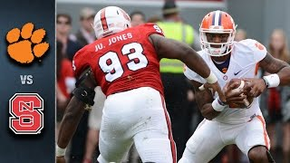 Clemson vs. NC State Football Highlights (2015)