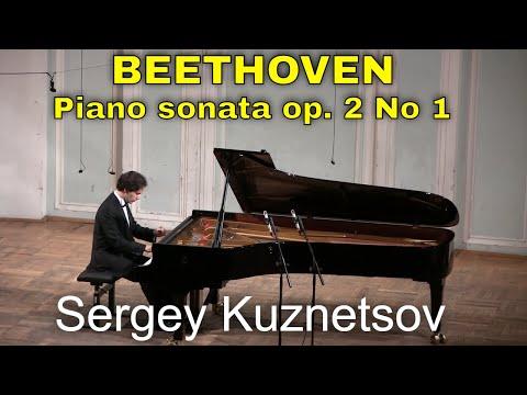 Beethoven, sonata No. 1 in F minor op. 2 No. 1 — Sergey Kuznetsov