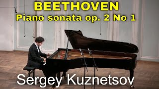 Beethoven, sonata No. 1 in F minor op. 2 No. 1 — Sergey Kuznetsov