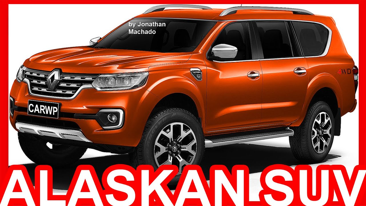 photoshop 2017 renault alaskan suv alaskan youtube. Black Bedroom Furniture Sets. Home Design Ideas