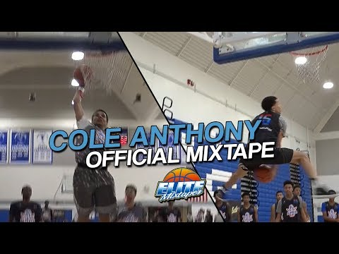 6'2 Cole Anthony IS #1 PG in 2019 over LaMelo Ball - CRAZY Summer Mixtape