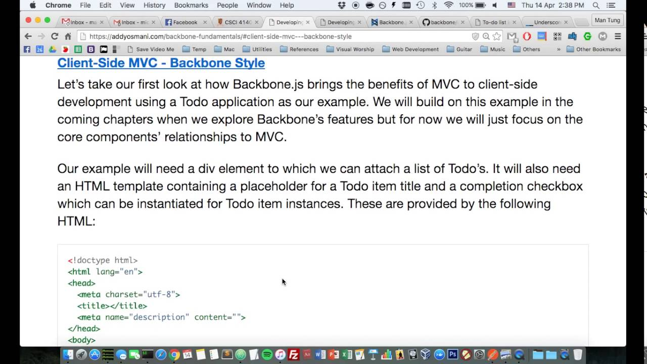 Sample app with backbone. Js and twitter bootstrap | christophe.