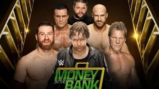 WWE 2K16 PS2: Money in the Bank 6-Man Ladder Match - Money in the Bank 2016