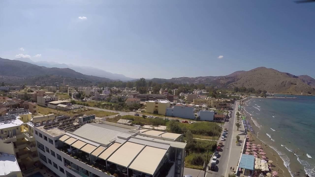 Crete Georgioupolis Kreta 2016 Γεωργιούπολη - YouTube