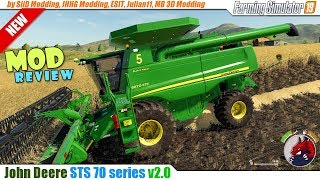"[""BEAST"", ""Review"", ""Timelapse"", ""Let'sPlay"", ""ATS"", ""FarmingSimulator19"", ""FS19"", ""FS19ModReview"", ""FS19ModsReview"", ""John Deere STS 70 series"", ""SiiD Modding"", ""MB 3D Modding""]"