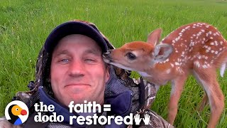 injured-fawn-deer-in-rocky-mountains-gets-adopted-the-dodo-faith-restored