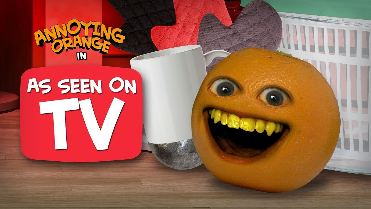 annoying orange as seen on tv youtube. Black Bedroom Furniture Sets. Home Design Ideas