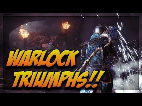Destiny 2 | Triumph Completions on Warlock