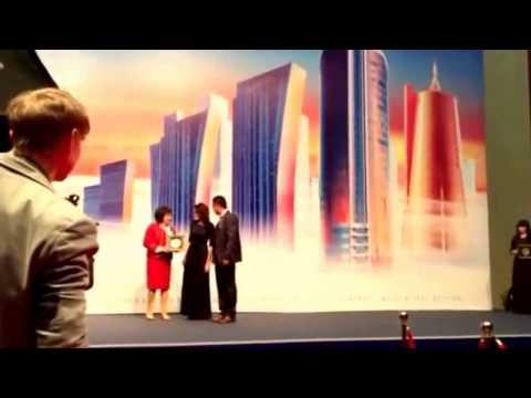 Вручение награды 'Лидер Отрасли 2014' Астана 3 марта