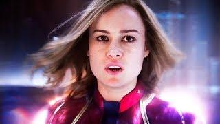 Капитан Марвел — Русский трейлер (2019)