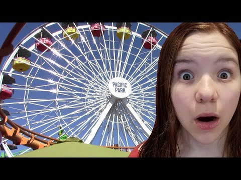 GIANT FERRIS WHEEL! Pacific Park Santa Monica Pier! | Babyteeth More!