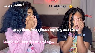 STORYTIME | HOW I FOUND MY LONG LOST SISTER *EMOTIONAL*