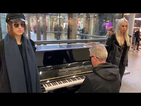 Soviet Girls Get Protective Over Russian Piano Improv