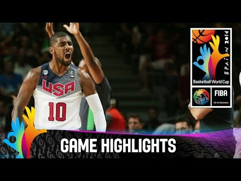 USA v Serbia - Game Highlights - Final - 2014 FIBA Basketball World Cup