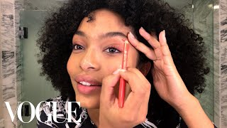 Yara Shahidi's Guide to Summer-Ready Eye Makeup | Beauty Secrets | Vogue