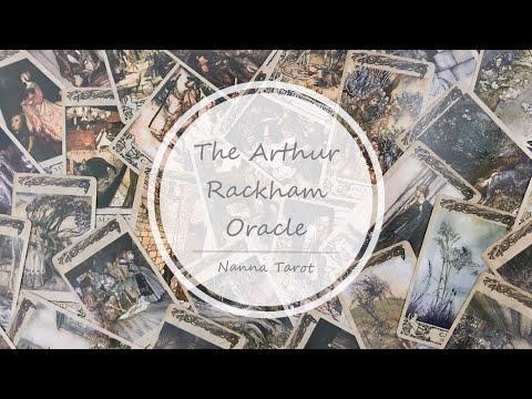 開箱   亞瑟拉克姆妖精神諭卡 • The Arthur Rackham Oracle // Nanna Tarot