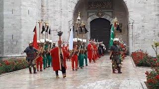 Ceddin Deden - Topkapı Sarayı Mehteran Geliyor - Mehter in Topkapi Palace
