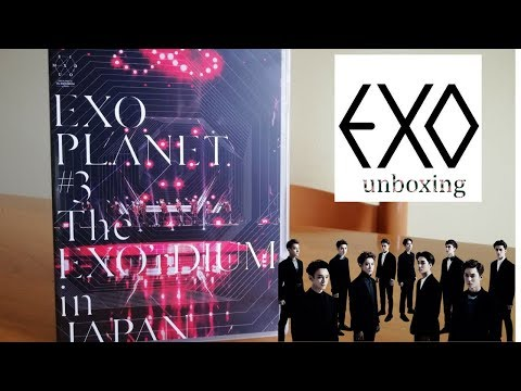 EXO Planet #3 The EXO'rDIUM In Japan DVD (ITA)