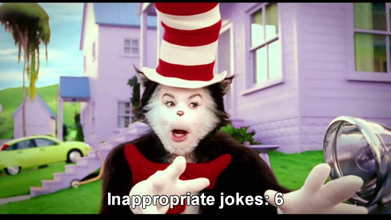 Cat In The Hat Hoe Joke