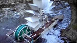 Water Wheel Spiral Pump