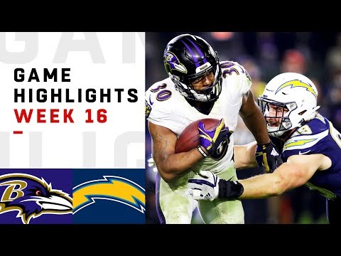 Ravens vs. Chargers Week 16 Highlights | NFL 2018