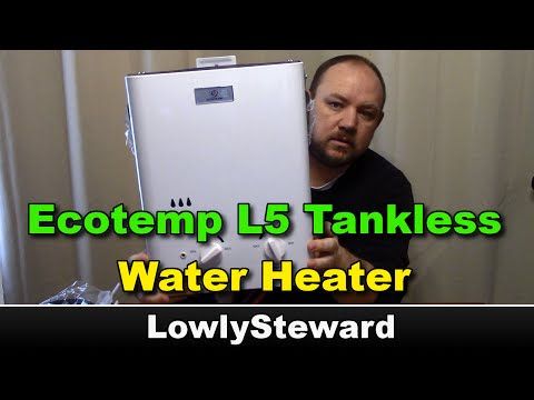 Eccotemp L5 Tankless Water Heater - Unboxing & Assembly