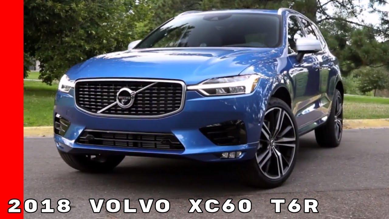 2018 Volvo XC60 T6R - YouTube