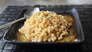"Quick ""creamed"" Curried Corn And How To Really Cut Corn Off A Cob!"