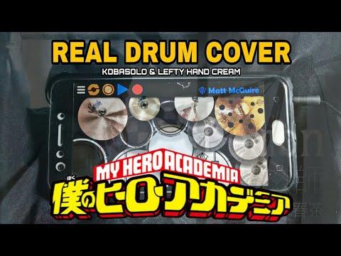 Kenshi Yonezu - Peace Sign | Boku No Hero Academia S2 OP1 | Kobasolo Cover ( Real Drum Cover )