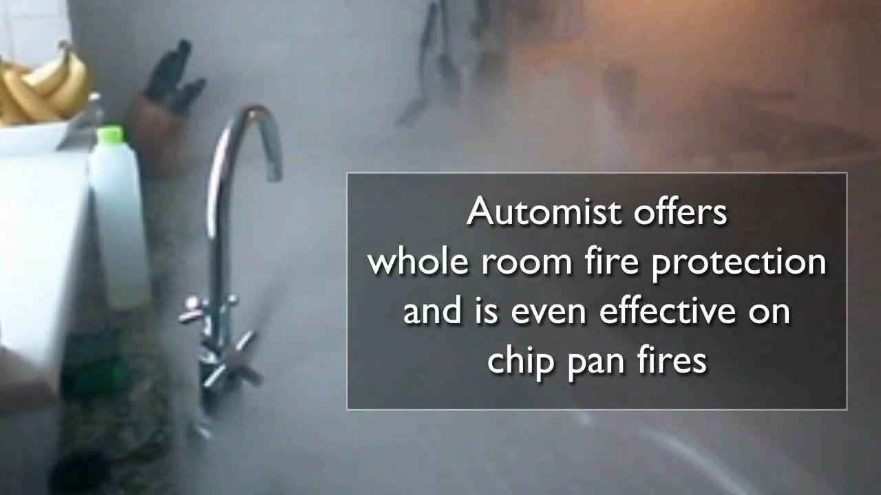 Automist smartscan fire protection for the home - This Is Automist A Fire Safety Device For The Home