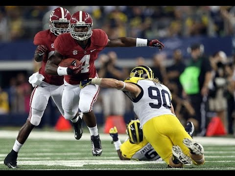 2012 Cowboys Classic - #8 Michigan vs. #2 Alabama (HD)
