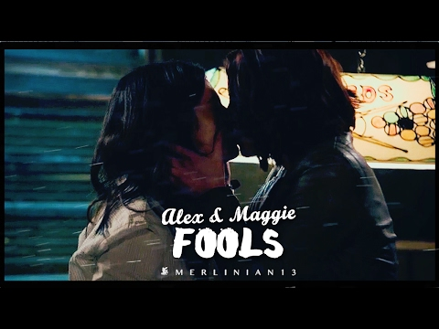 Alex and Maggie [Supergirl +2x08] // Fools