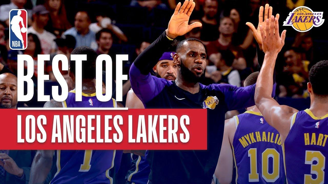 b9a5ec24b49 Best of the LA Lakers 1st Win vs Suns