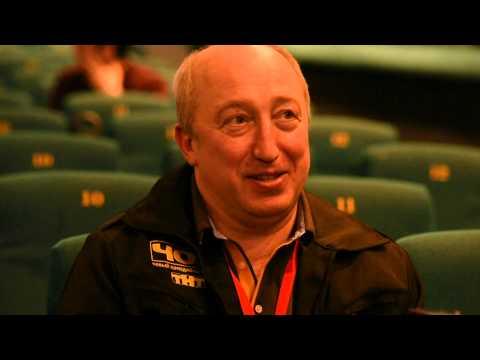 Актёр Сергей Стёпин (начальник ЧОП) после премьеры сериала ЧОП. Фрагмент интервью