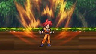 Sonic, Shadow, Goku, and Vegeta Vs Broly Part 2
